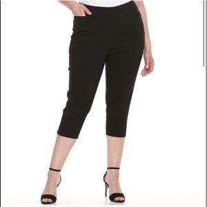 Plus Size APT. 9 Brynn Pull-On Capri Pants